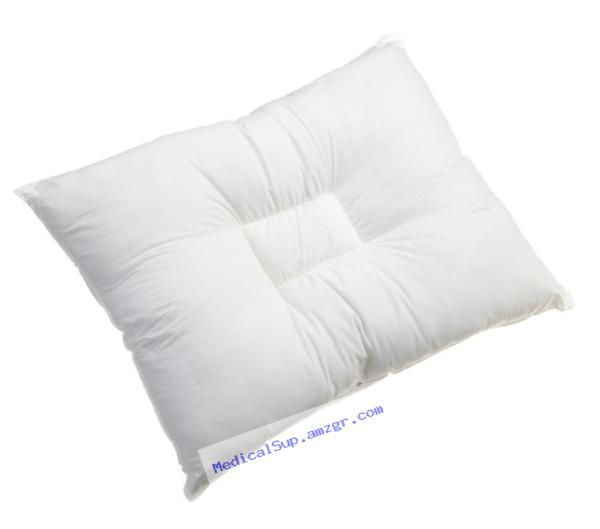 BICOR Orthopedic Pillow Assists With Neck, Spine, and Shoulder Alignment Hypoallergenic 100% Polyester