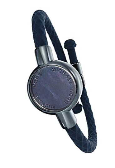 Michael Kors Access Activity Tracker Crosby Silicone Blue Bracelet
