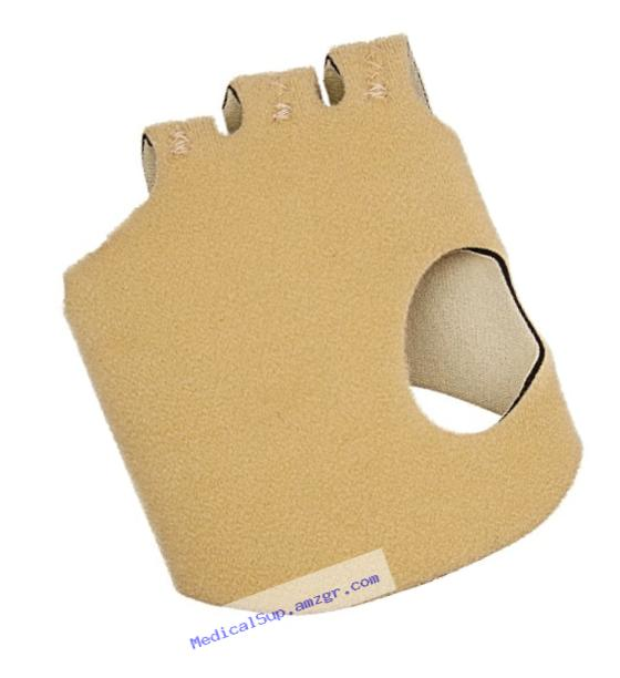 Rolyan Hand-Based In-Line Splint for Right Hand, Size Medium Hand Brace for Knuckle Support and MCP Joint Alignment, Reinforced Neoprene Hand Support with Finger Straps, Finger Alignment Splints