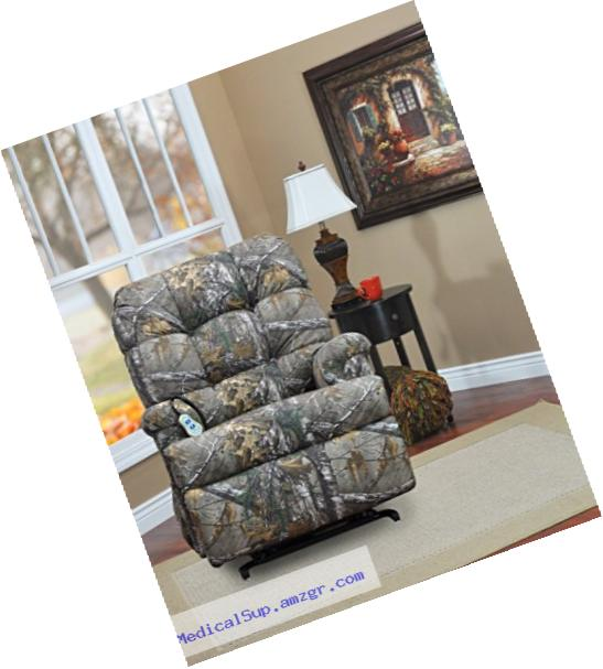 Medlift 5500-RTX Real Tree Wall-a-Way Reclining Lift Chair, Xtra Camouflage